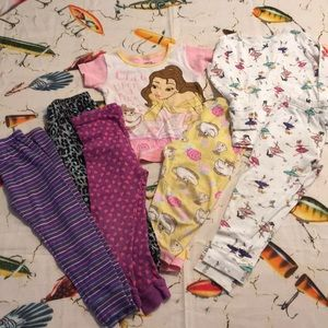 7 piece bundle 3t pjs